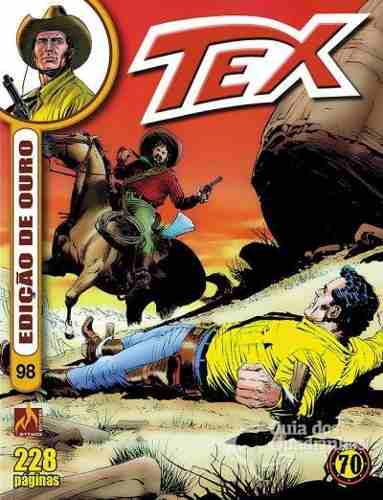 Revista Hq Gibi - Tex Ouro 98 - O Tesouro Da Mina  - Vitoria Esportes