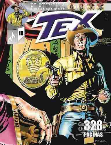Hq Gibi - Tex Platinum 18 - O Veneno Do Cobra  - Vitoria Esportes