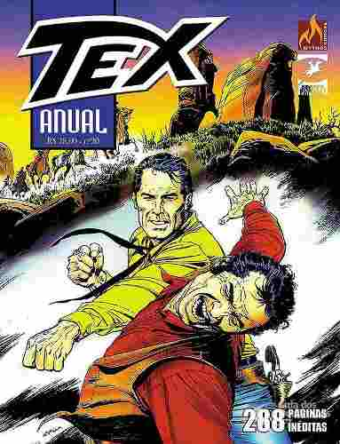 Revista Hq Gibi - Tex Anual 20 - A Grande Corrida  - Vitoria Esportes
