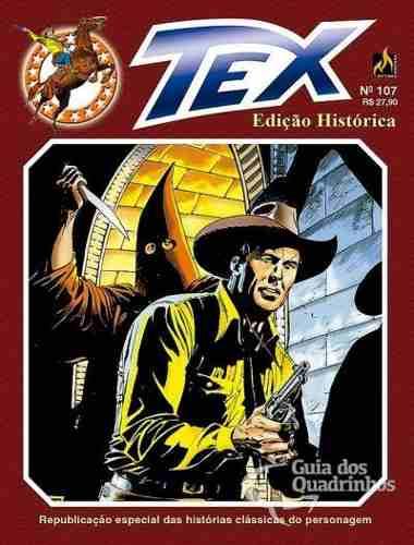 Hq Gibi Tex Edição Histórica 107 Os Encapuzados  - Vitoria Esportes