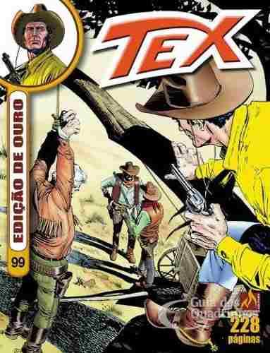 Revista Hq Gibi - Tex Ouro 99 - Irmão Branco  - Vitoria Esportes