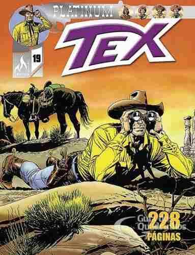 Revista Hq Gibi - Tex Platinum 19 - Testemunhas De Acusação  - Vitoria Esportes