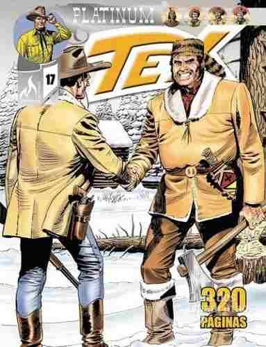 Revista Hq Gibi - Tex Platinum 17 - O Deus Canibal  - Vitoria Esportes