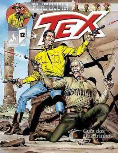 Revista Hq Gibi - Tex Platinum 12 - A Fera Humana  - Vitoria Esportes