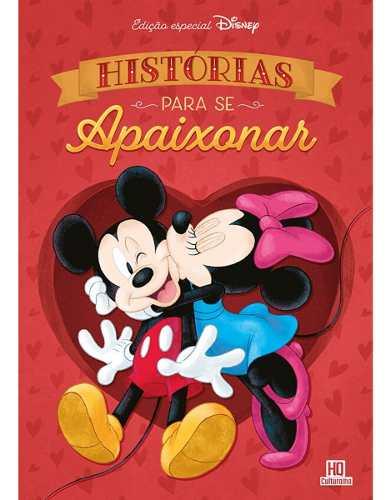 Hq Capa Dura - Histórias Para Se Apaixonar - Disney  - Vitoria Esportes