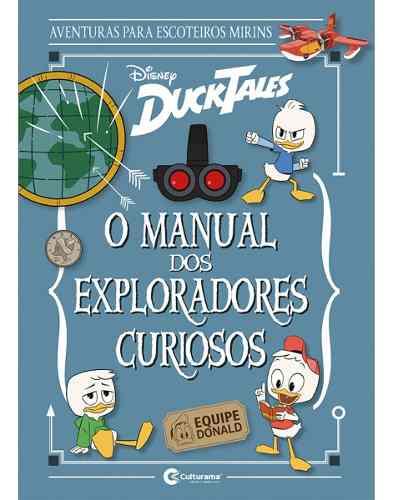 Livro Capa Dura - O Manual Dos Exploradores Curiosos - Disney  - Vitoria Esportes
