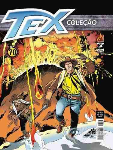 Hq Gibi - Tex Coleção 467  - Vitoria Esportes