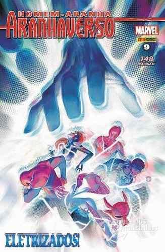 Hq Gibi Homem Aranha - AranhaVerso 09 Marvel  - Vitoria Esportes