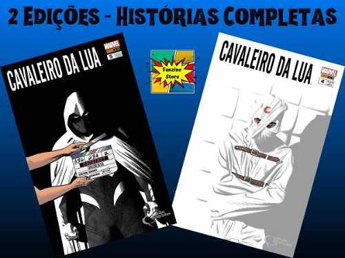 Kit Hq Gibi Marvel Cavaleiro Da Lua Marvel Edições 4 E 5  - Vitoria Esportes
