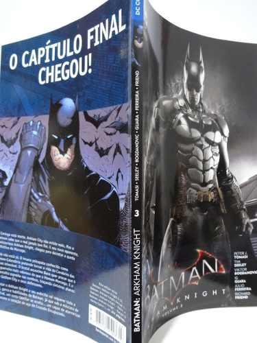 Kit 3 Hq Gibi Batman Arkham Knight Dc Completo Peter Tomasi  - Vitoria Esportes