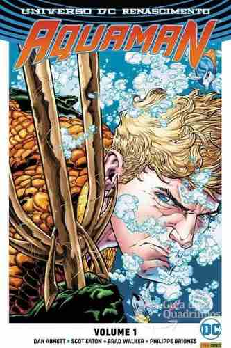 Hq Gibi Aquaman Dc Renascimento 01  - Vitoria Esportes