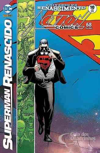 Hq Gibi Action Comics Renascimento 10 Dc  - Vitoria Esportes
