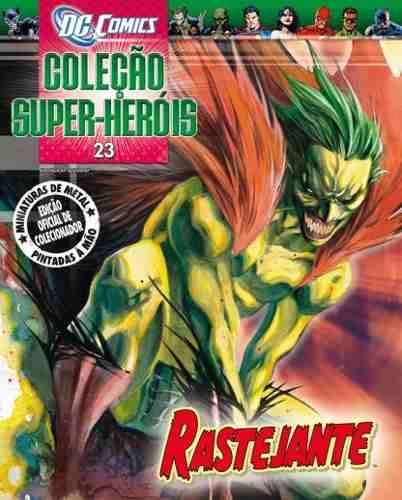 Revista Dc Comics Edição 23 - Rastejante Eaglemoss  - Vitoria Esportes