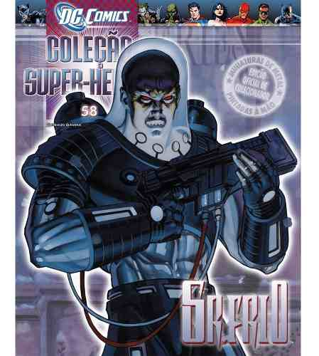 Revista Dc Comics Edição 58 - Sr. Frio Eaglemoss  - Vitoria Esportes