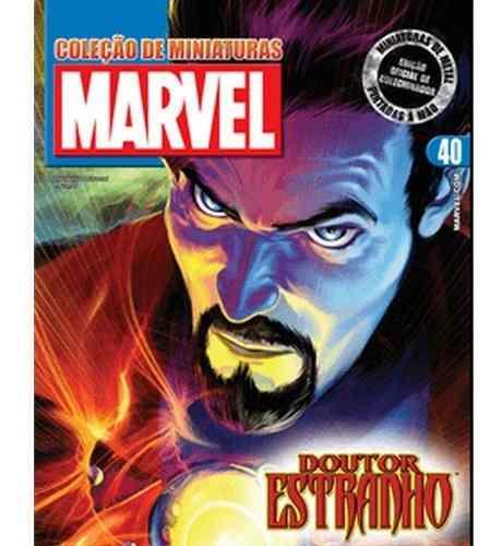 Revista Marvel Edição 40 - Doutor Estranho Eaglemoss  - Vitoria Esportes
