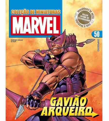 Revista Marvel Edição 50 - Gavião Arqueiro Eaglemoss  - Vitoria Esportes
