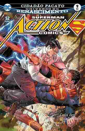 Hq Gibi Action Comics Renascimento 9 Dc  - Vitoria Esportes