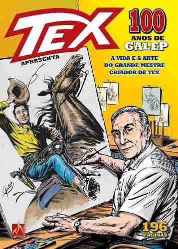 Hq Gibi Revista Tex - 100 Anos De Galep   - Vitoria Esportes
