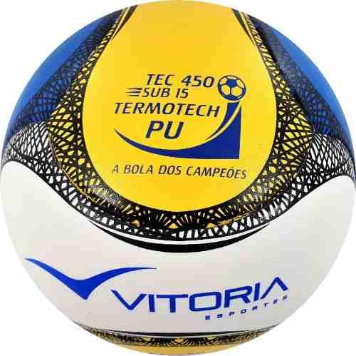 Bola Futsal Vitoria Termotec Sub 15 Kit Com 3 (13 A 15 Anos)  - Vitoria Esportes