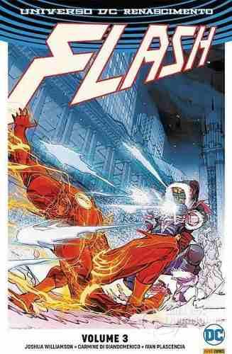 Hq Gibi Flash Universo Dc Renascimento - Vol. 3  - Vitoria Esportes