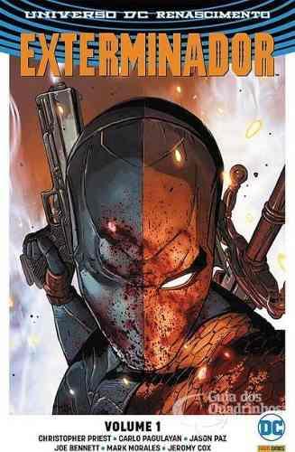Hq Gibi Exterminador Universo Dc Renascimento - Vol. 1   - Vitoria Esportes