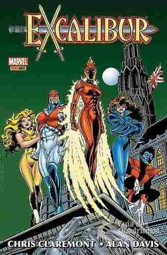 Hq Gibi - Excalibur Origem - Marvel  - Vitoria Esportes