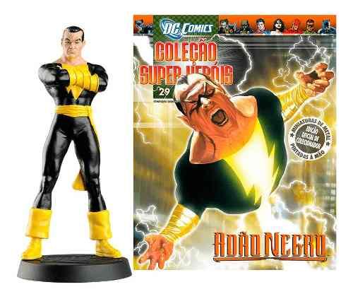 Revista Dc Comics Edição 29 - Adão Negro Eaglemoss  - Vitoria Esportes