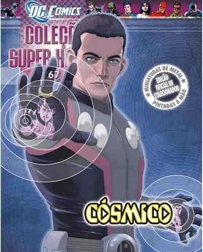 Revista Dc Comics Edição 67 - Cósmico Eaglemoss  - Vitoria Esportes