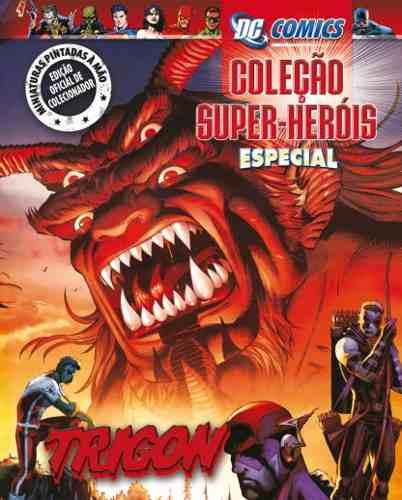 Revista Dc Comics Edição Especial - Trigon Eaglemoss  - Vitoria Esportes