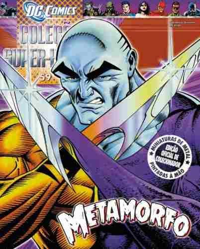 Revista Dc Comics Edição 59 - Metamorfo Eaglemoss  - Vitoria Esportes