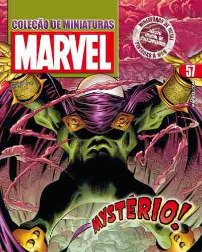 Revista Marvel Edição 57 - Mistério Eaglemoss  - Vitoria Esportes