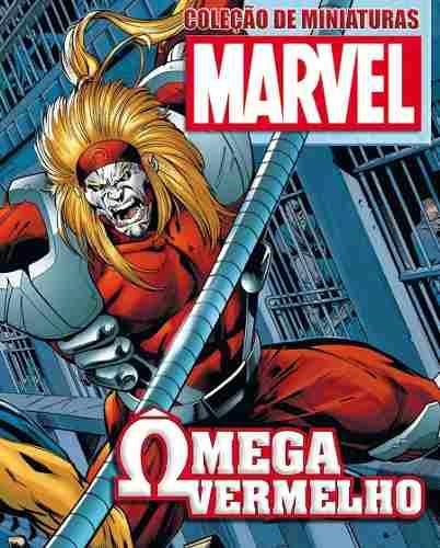 Revista Marvel Edição Especial - Ômega Vermelho Eaglemoss  - Vitoria Esportes