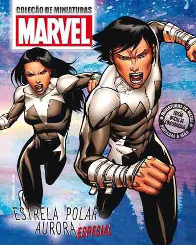 Revista Marvel Especial - Estrela Polar & Aurora Eaglemoss  - Vitoria Esportes