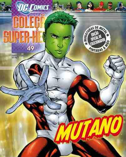 Revista Dc Comics Edição 49 - Mutano Eaglemoss  - Vitoria Esportes