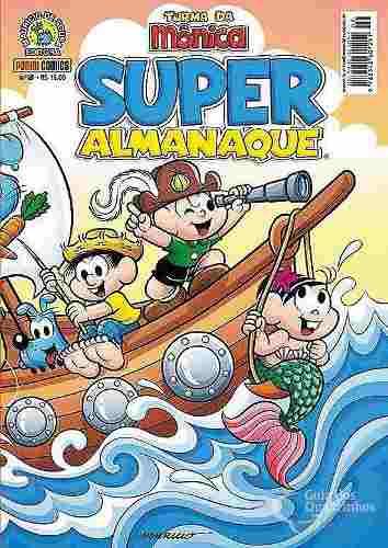 Super Almanaque Turma Da Mônica Nº 2 Panini 300 Pg  - Vitoria Esportes