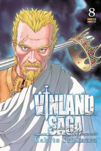 Hq Mangá Vinland Saga 08  - Vitoria Esportes