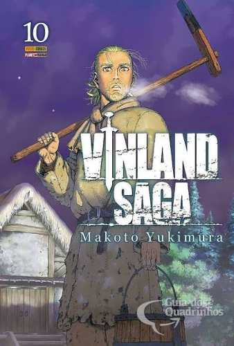 Hq Mangá Vinland Saga 10  - Vitoria Esportes