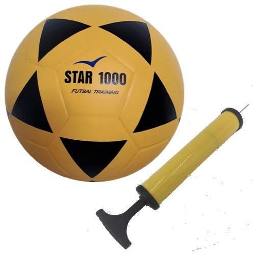 Bola Futsal Vitoria Oficial Star 1000 Pu Especial Com Bomba