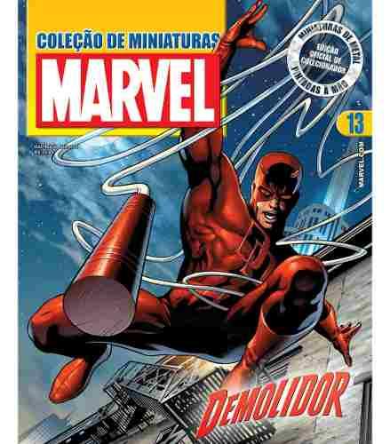Revista Marvel Edição 13 - Demolidor Eaglemoss  - Vitoria Esportes