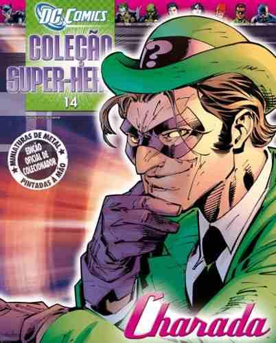 Revista Dc Comics Edição 14 - Charada Eaglemoss Dc Comics  - Vitoria Esportes