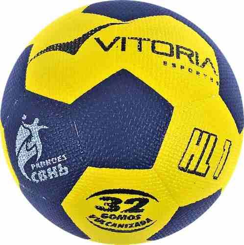 Kit 3 Bolas Handebol Oficial Vitoria Gripp Pu H1l - Mirim  - Vitoria Esportes
