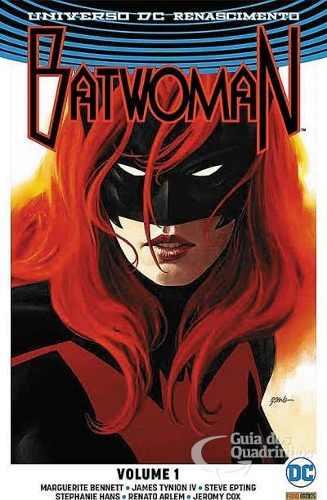 Hq Gibi - Batwoman Universo Dc Renascimento - Vol. 1  - Vitoria Esportes