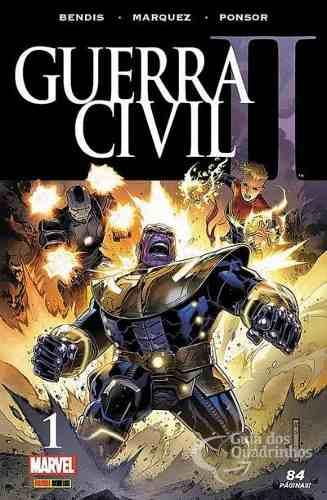 Hq Gibi - Guerra Civil Il Minissérie N° 1 - Marvel  - Vitoria Esportes