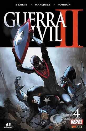 Hq Gibi - Guerra Civil Il Minissérie N° 4 - Marvel  - Vitoria Esportes
