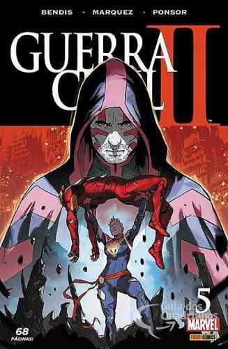 Hq Gibi - Guerra Civil Il Minissérie N° 5 - Marvel  - Vitoria Esportes