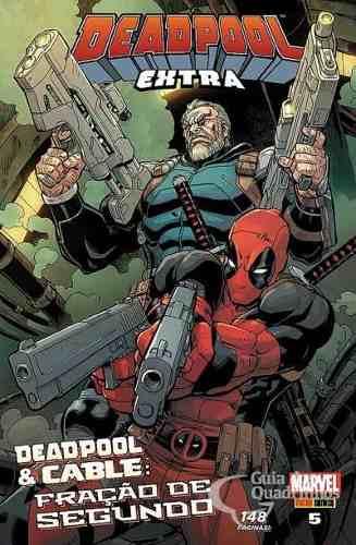 Hq Gibi - Deadpool Extra N° 5 - Marvel  - Vitoria Esportes
