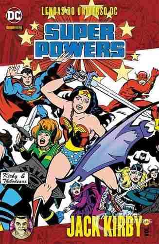 Hq Gibi - Lendas Do Universo Dc Super Powers N° 1 Jack Kirby  - Vitoria Esportes
