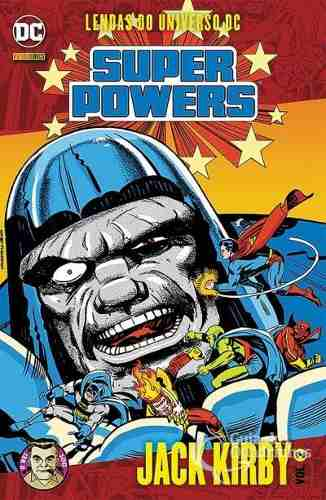 Hq Gibi - Lendas Do Universo Dc Super Powers N° 2 Jack Kirby  - Vitoria Esportes