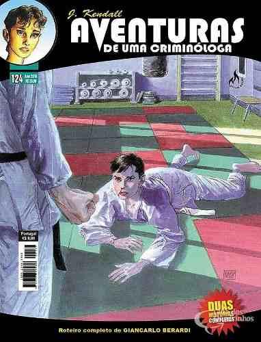 Kit 4 Edições Hq Aventuras De Uma Criminóloga Julia Kendall  - Vitoria Esportes