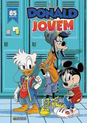 Hq Pato Donald Jovem - Capa Dura  - Vitoria Esportes